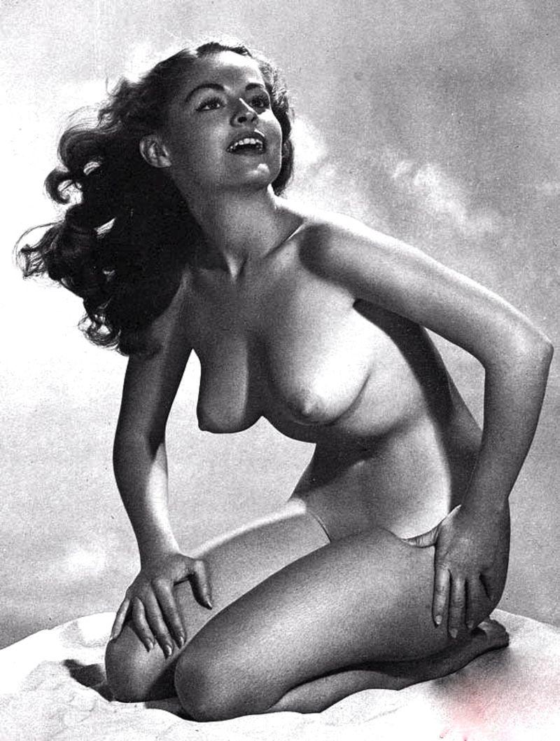 Фото ретро 40-50-х голых женщин